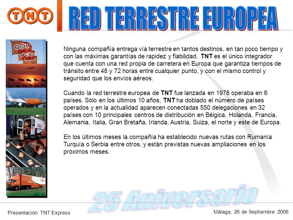 RED TERRESTRE EUROPEA 25 Aniversario