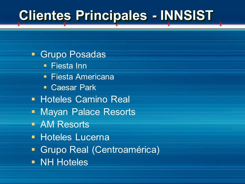 Clientes Principales - INNSIST