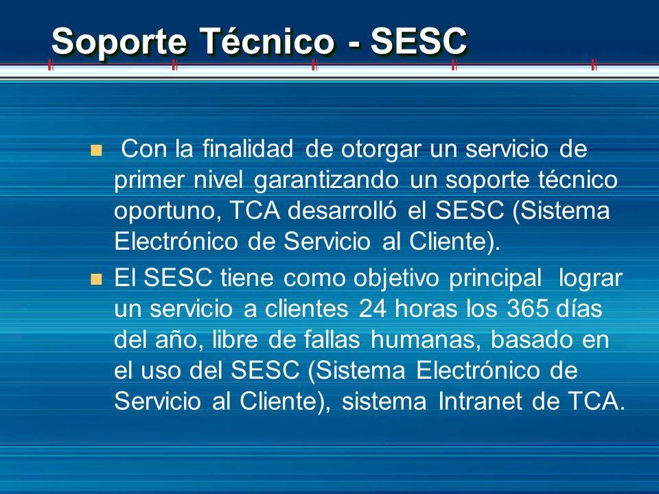 Soporte Técnico - SESC