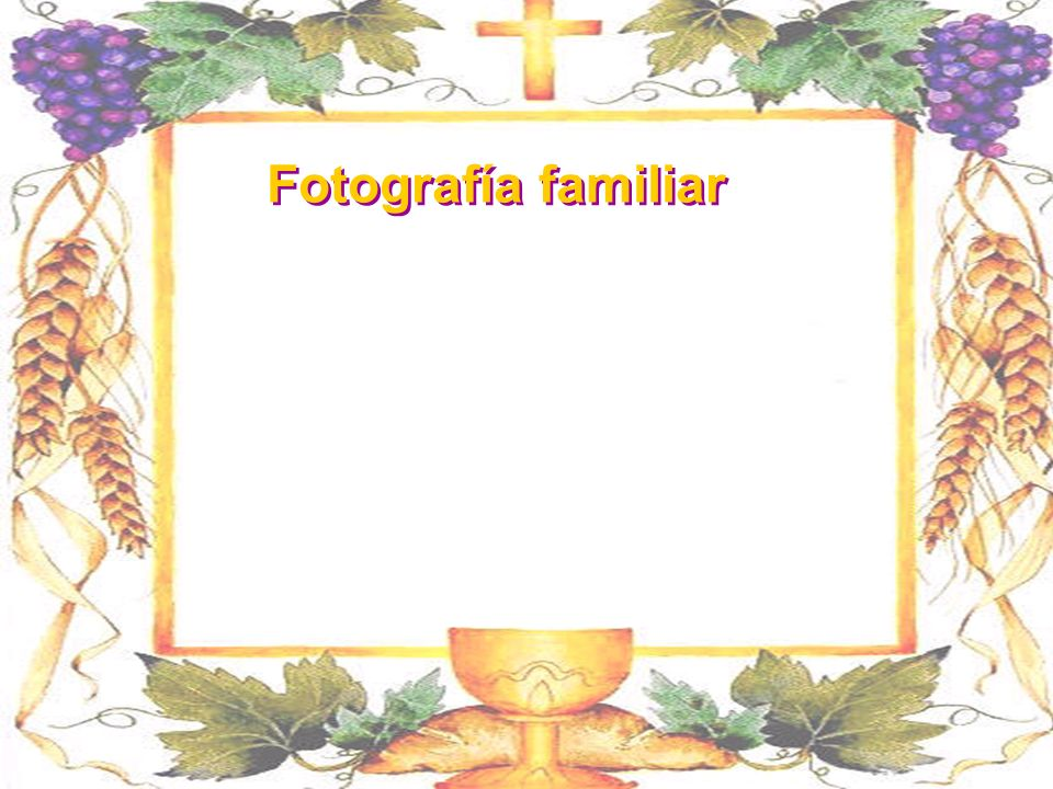 Fotografía familiar