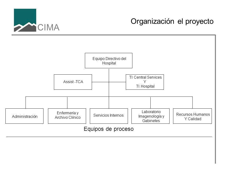 Organización el proyecto
