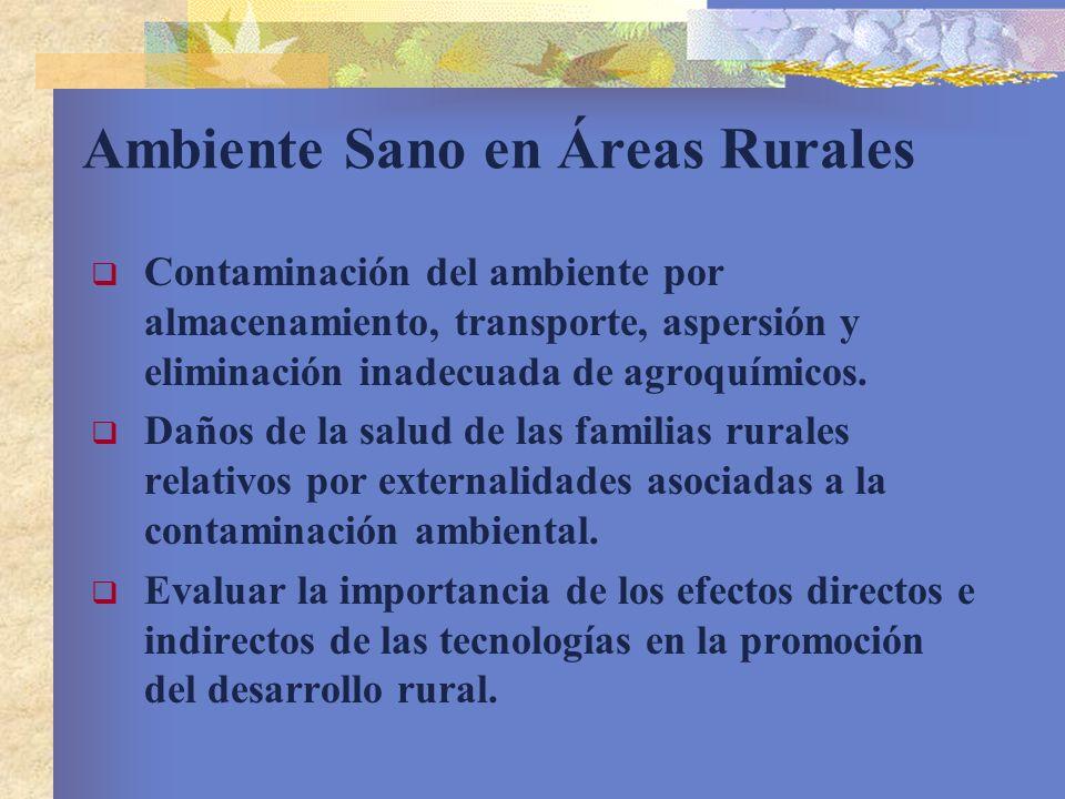 Ambiente Sano en Áreas Rurales