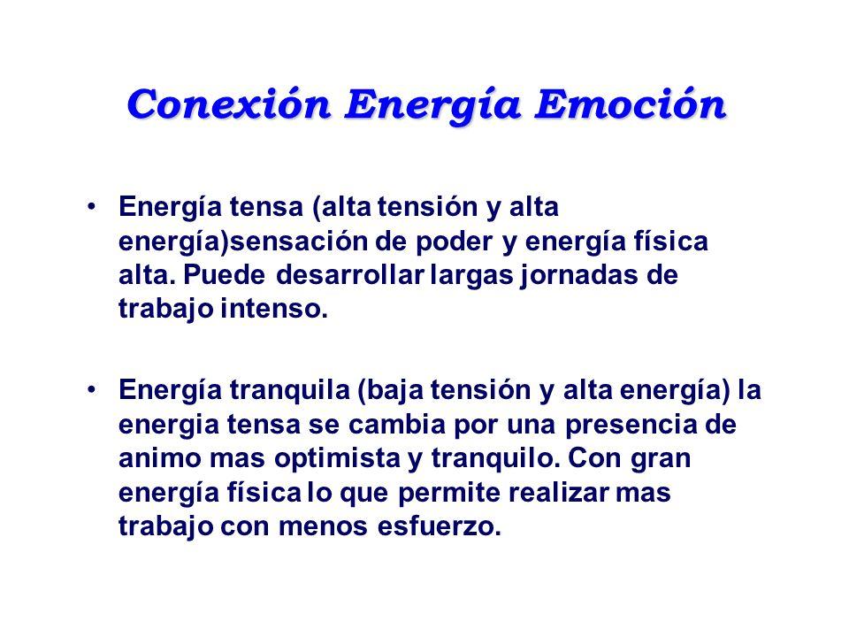 Conexión Energía Emoción