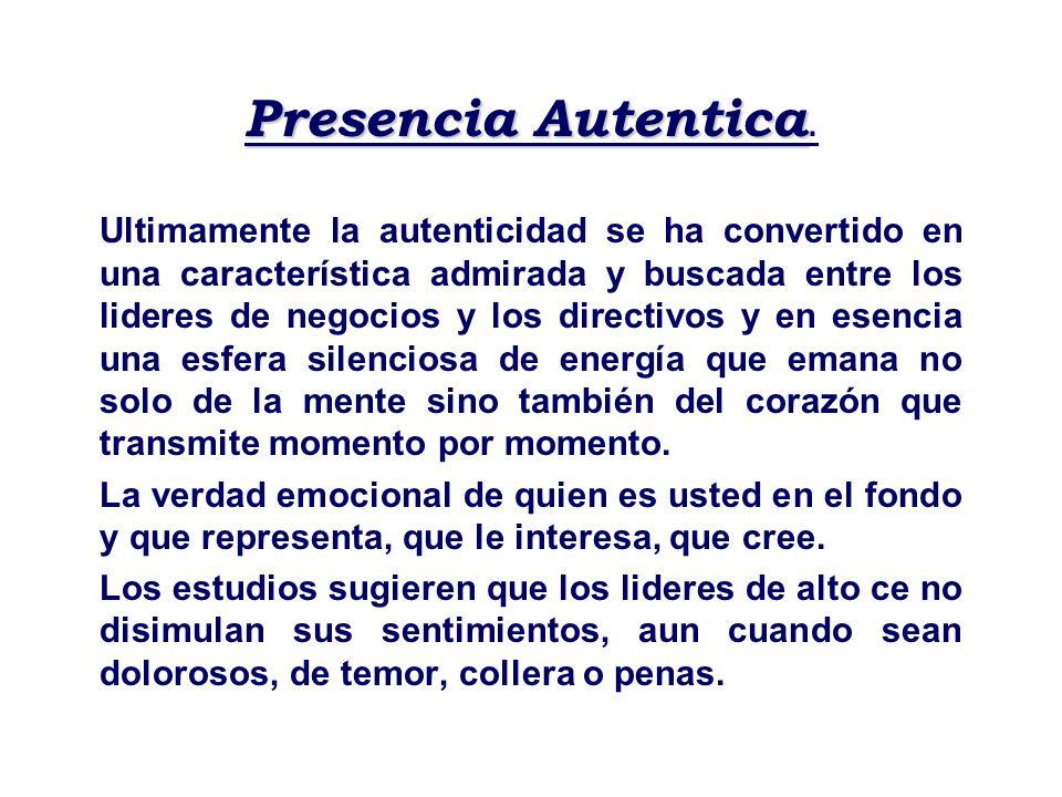 Presencia Autentica.