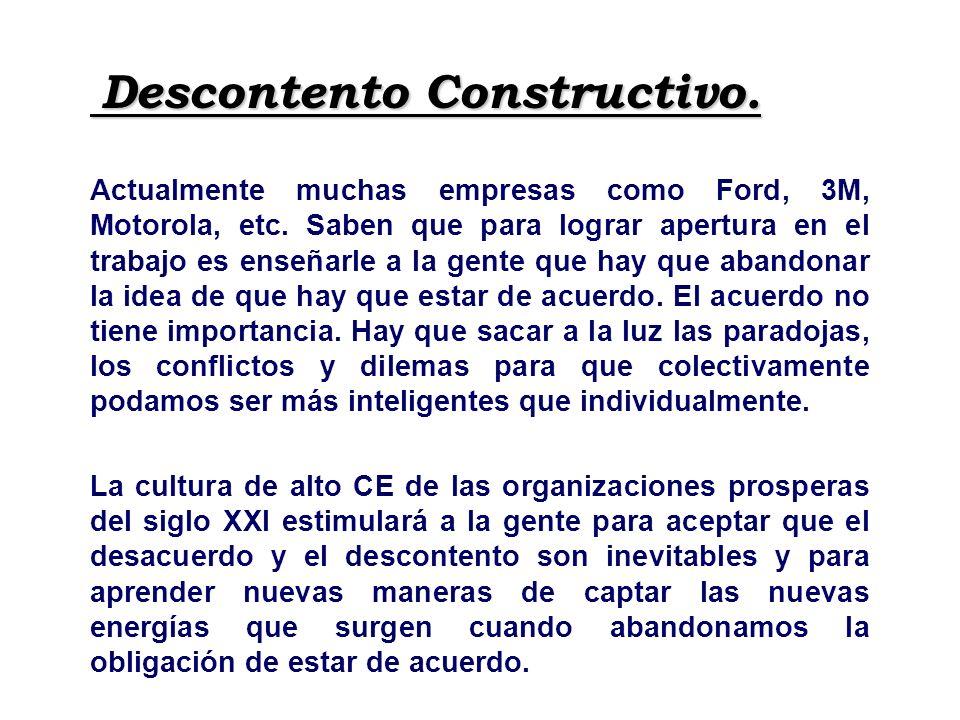 Descontento Constructivo.