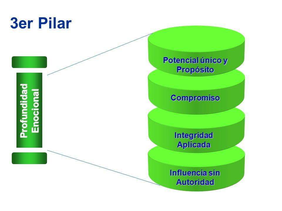 3er Pilar Profundidad Enocional Potencial único y Propósito Compromiso