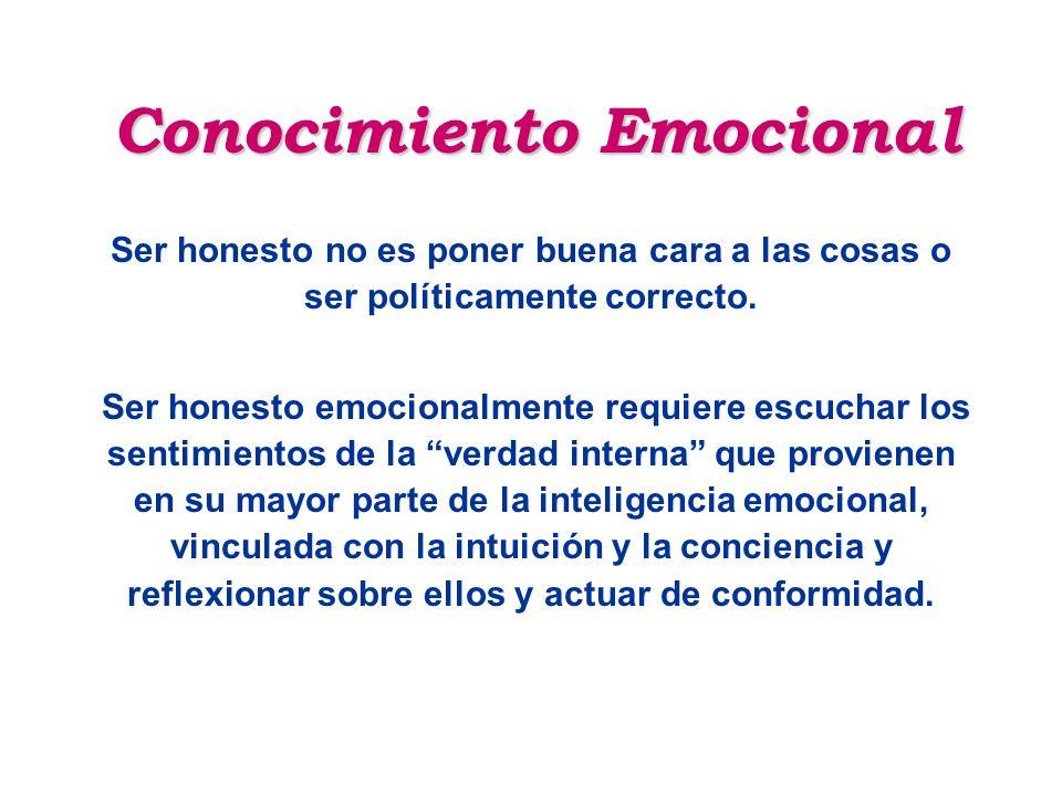 Conocimiento Emocional