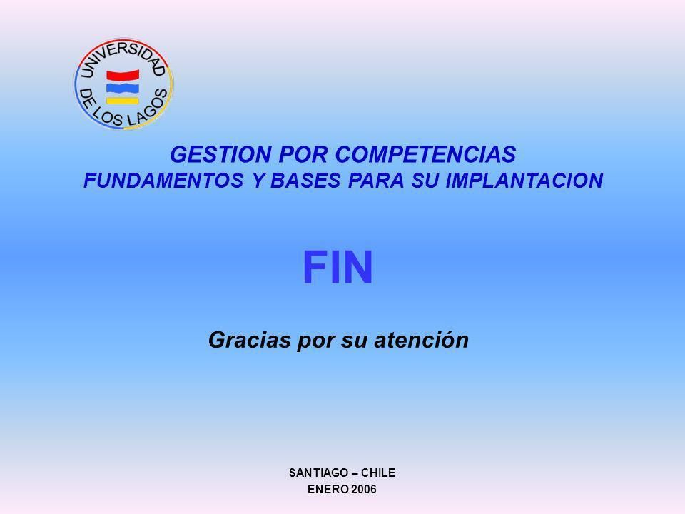 FIN GESTION POR COMPETENCIAS FUNDAMENTOS Y BASES PARA SU IMPLANTACION