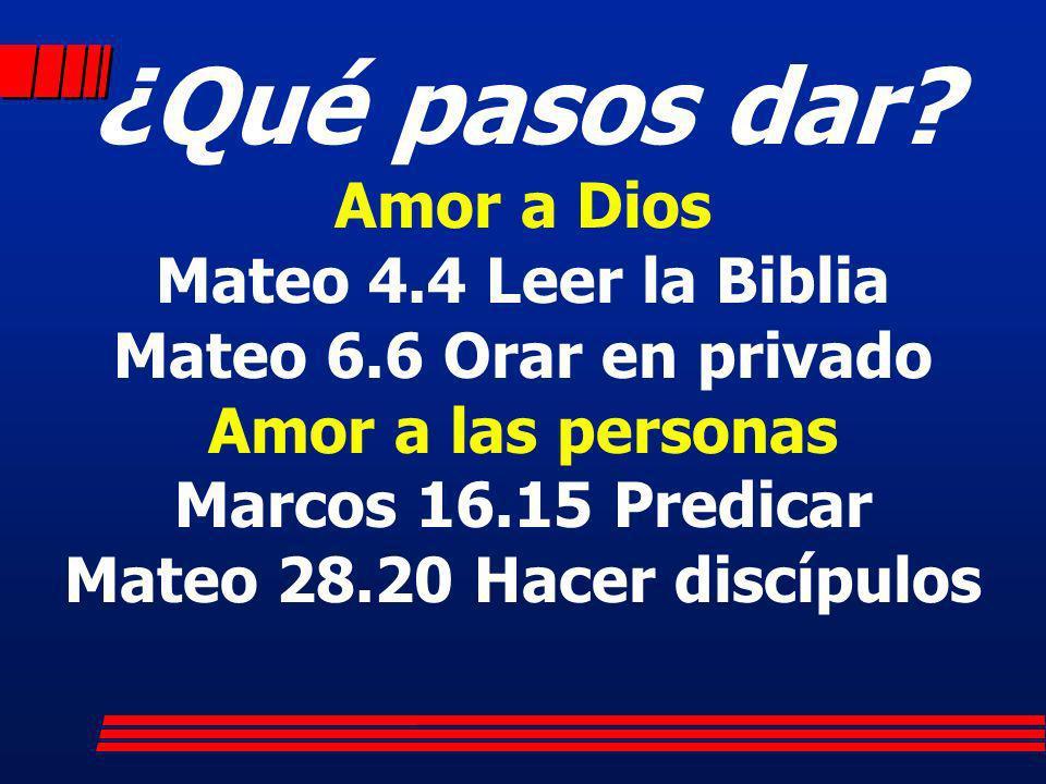 Mateo 28.20 Hacer discípulos