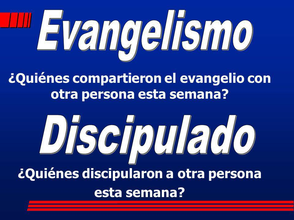 Evangelismo Discipulado