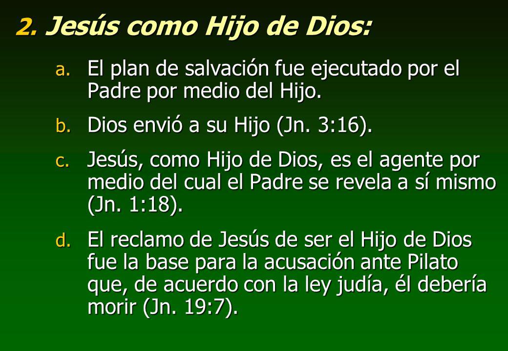 Jesús como Hijo de Dios: