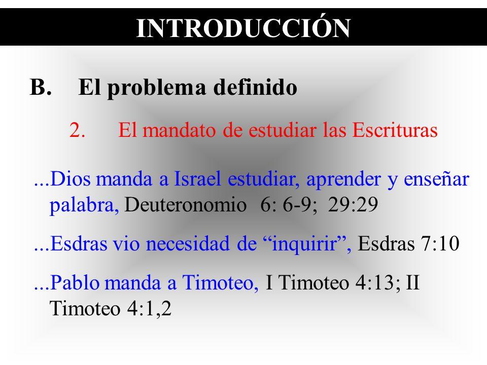 2. El mandato de estudiar las Escrituras