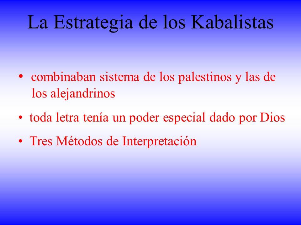 La Estrategia de los Kabalistas