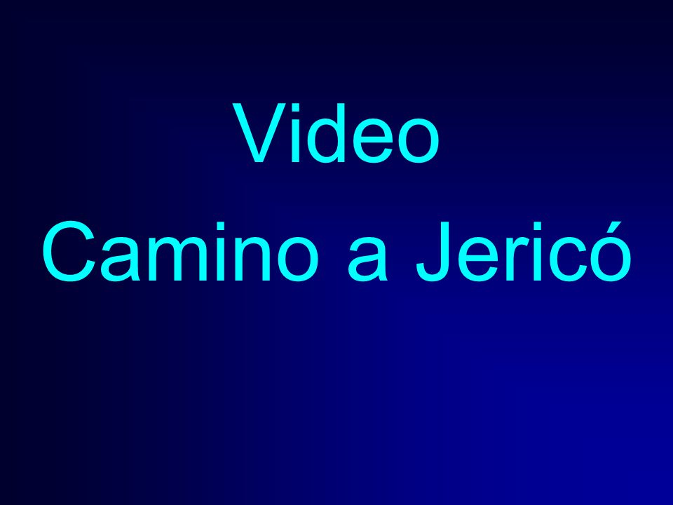Video Camino a Jericó