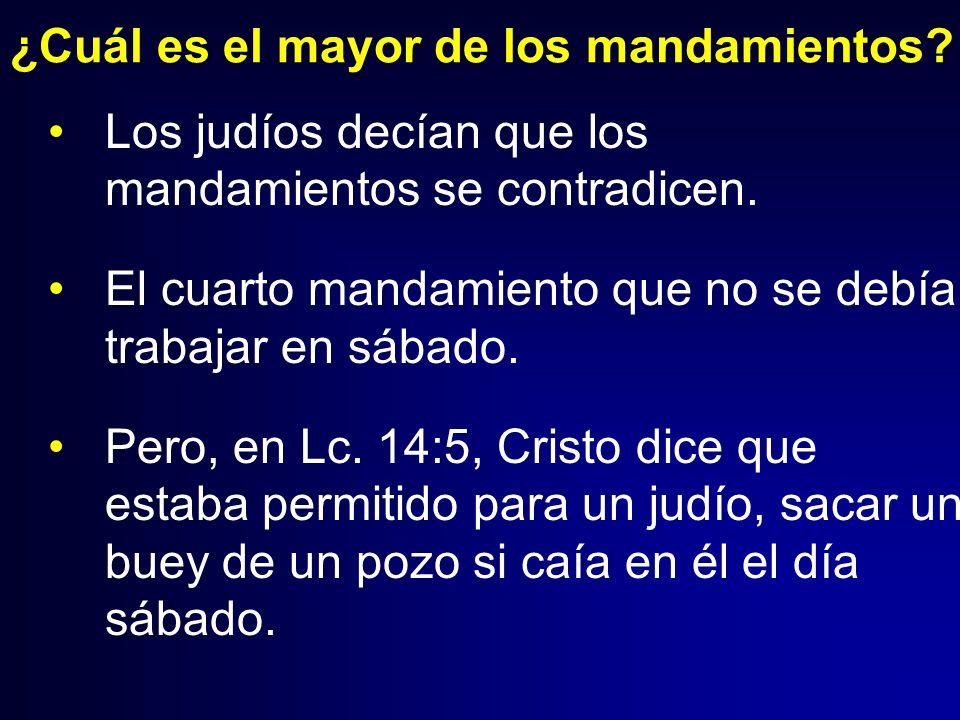Clase 21 ministerio final de jes s en galilea y judea for Cuarto mandamiento