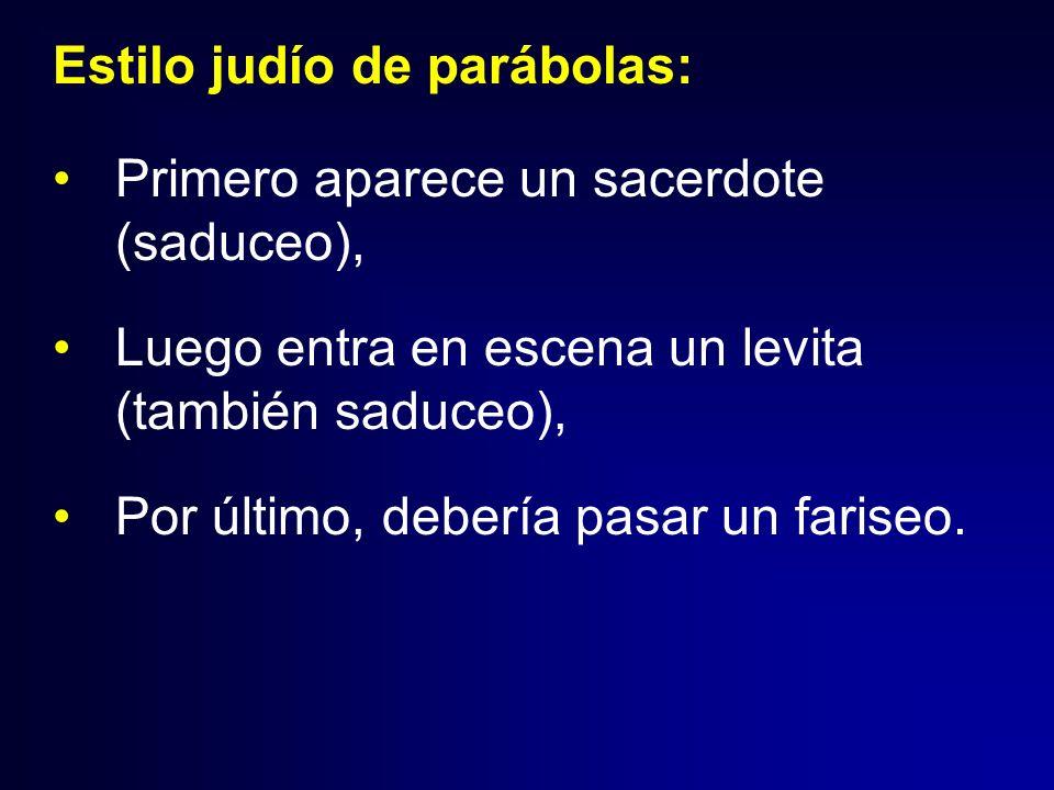 Estilo judío de parábolas: