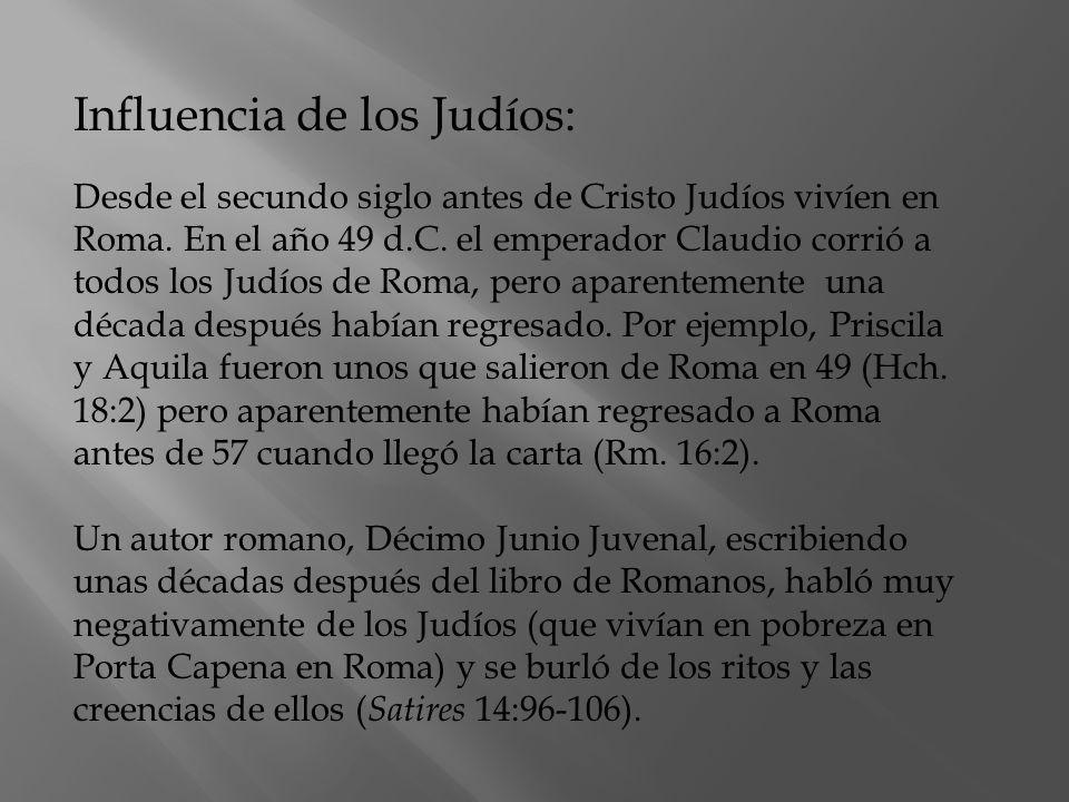 Influencia de los Judíos: