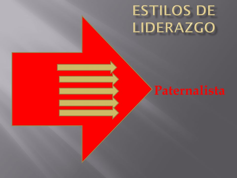 Estilos de Liderazgo Paternalista