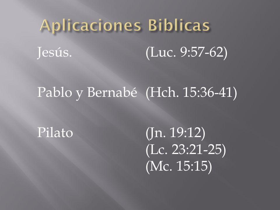 Aplicaciones Biblicas