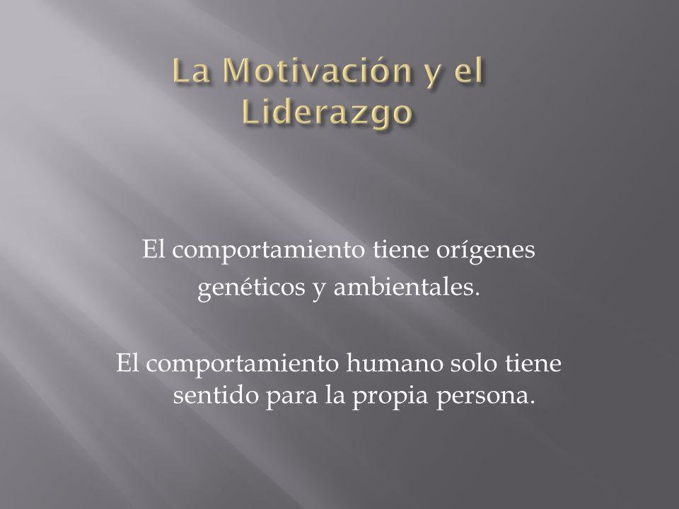 La Motivación y el Liderazgo