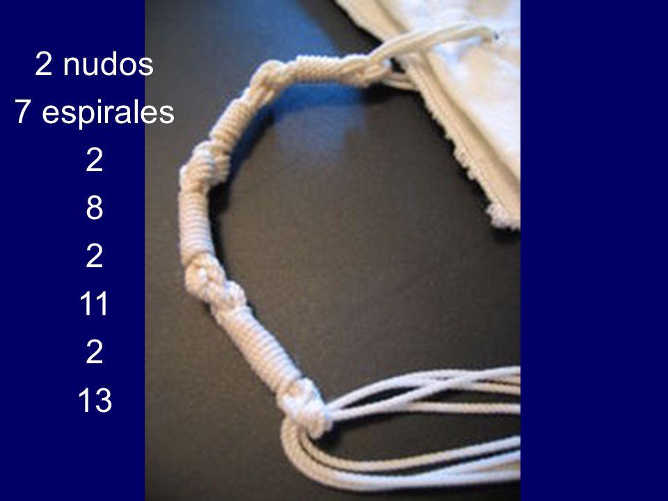 2 nudos 7 espirales 2 8 11 13
