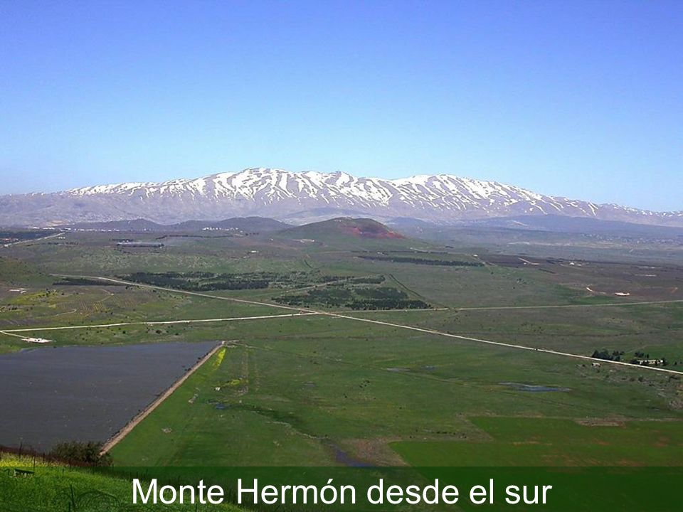 Mount Hermon from south