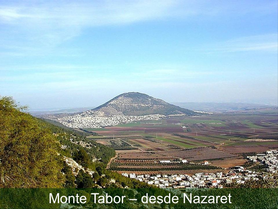 Mt Tabor from Nazareth ridge