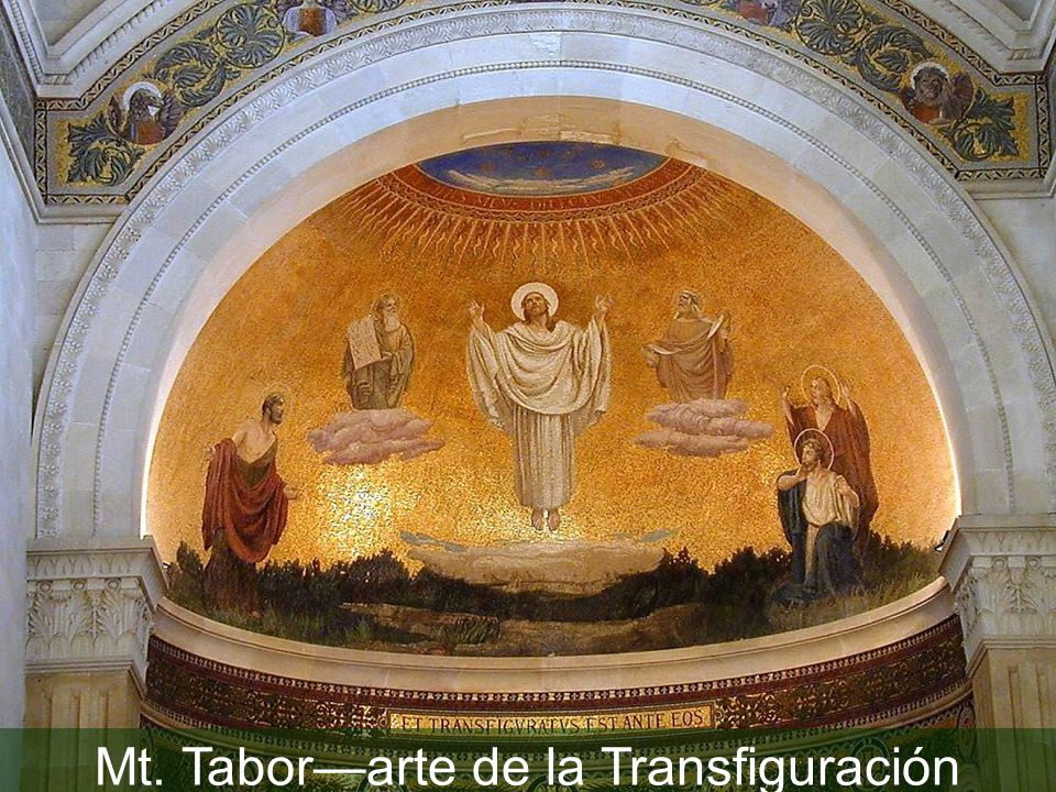 Mt. Tabor Church of Transfiguration mural