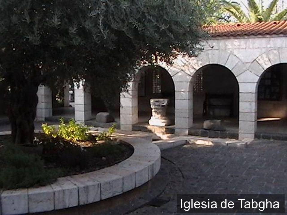 Iglesia de Tabgha