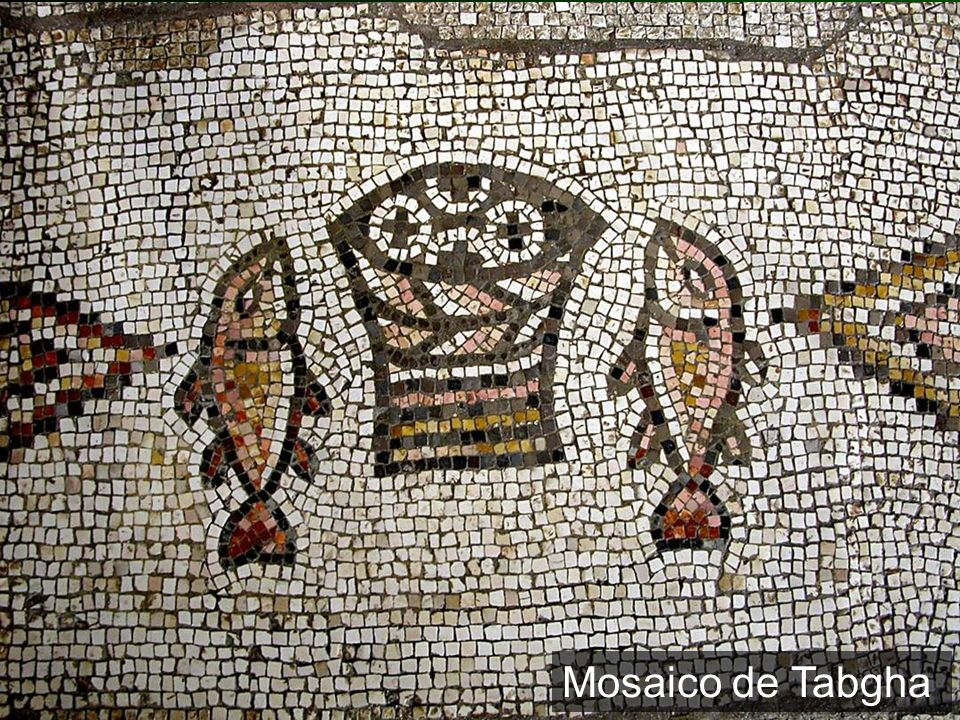 Tabgha mosaic of fish and loaves