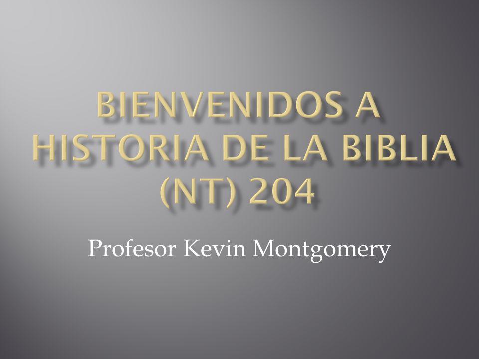 Bienvenidos a Historia de la Biblia (NT) 204