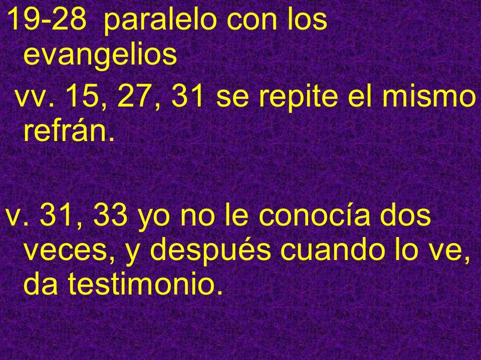 19-28 paralelo con los evangelios