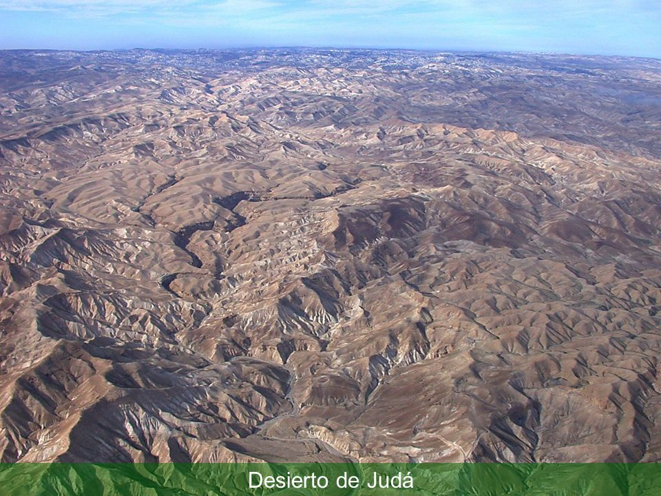 Judean wilderness aerial