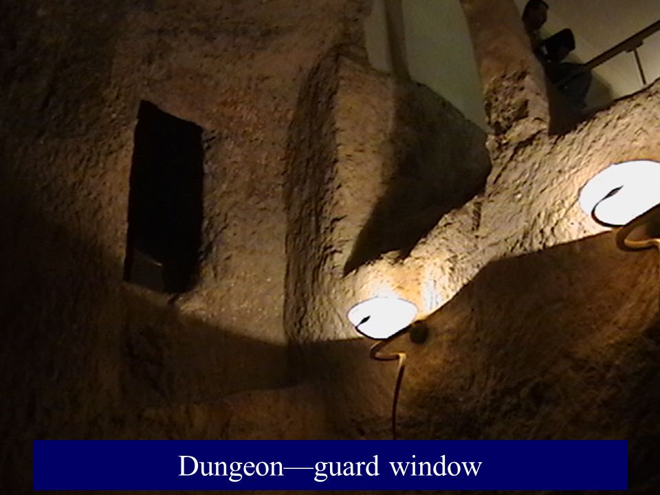 Dungeon—guard window