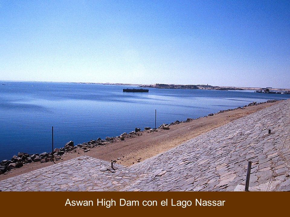 Aswan High Dam with Lake Nasser