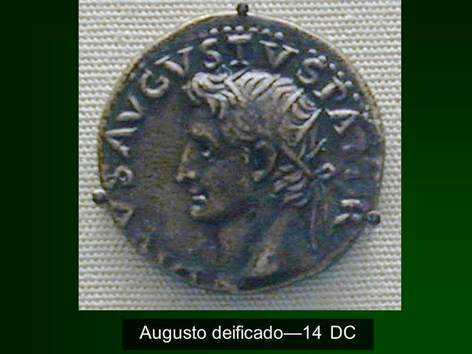 Augusto deificado—14 DC