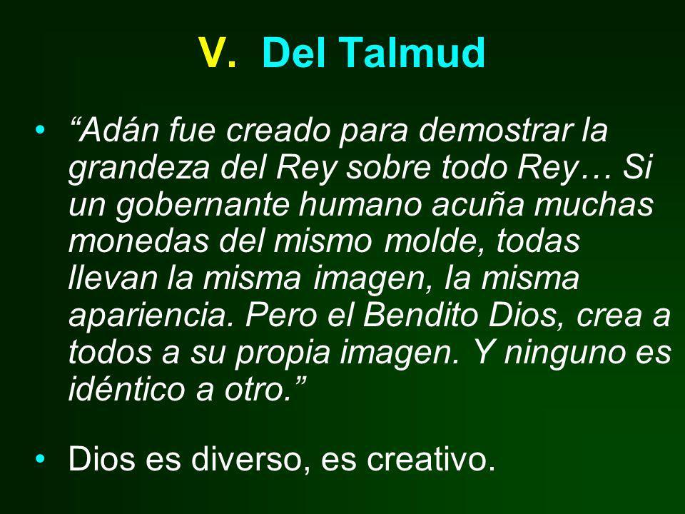 V. Del Talmud