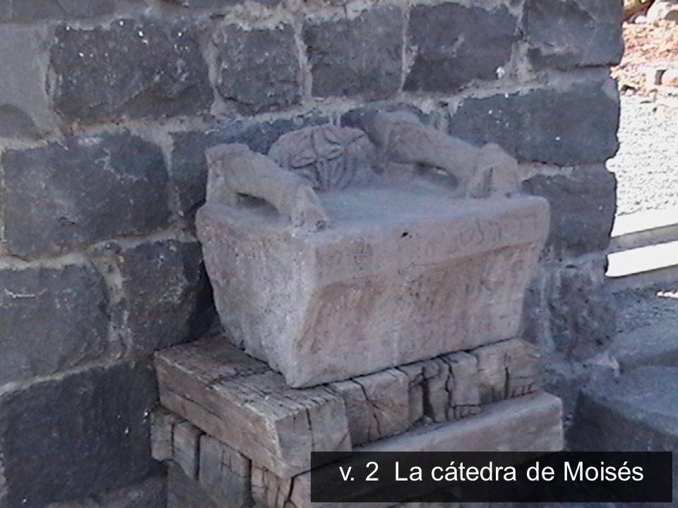 v. 2 La cátedra de Moisés