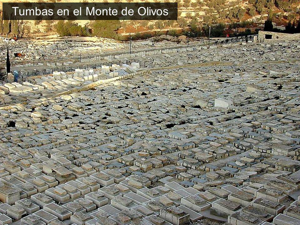 Tumbas en el Monte de Olivos