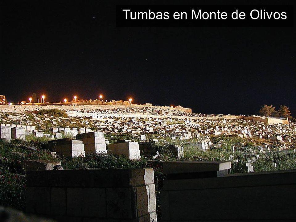 Tumbas en Monte de Olivos