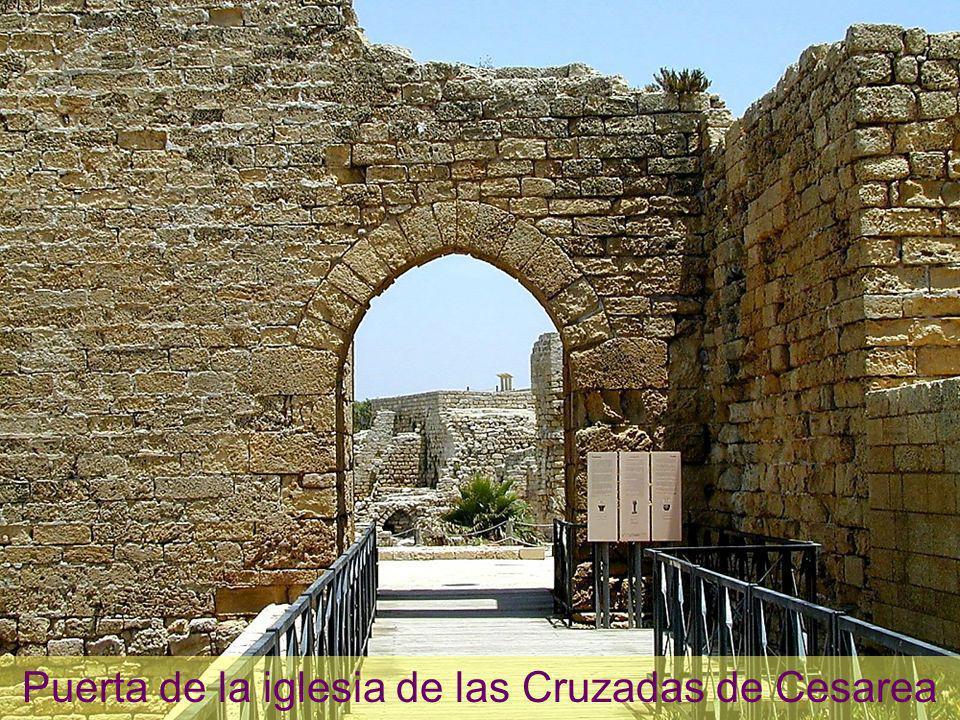 Caesarea Crusader southern gate