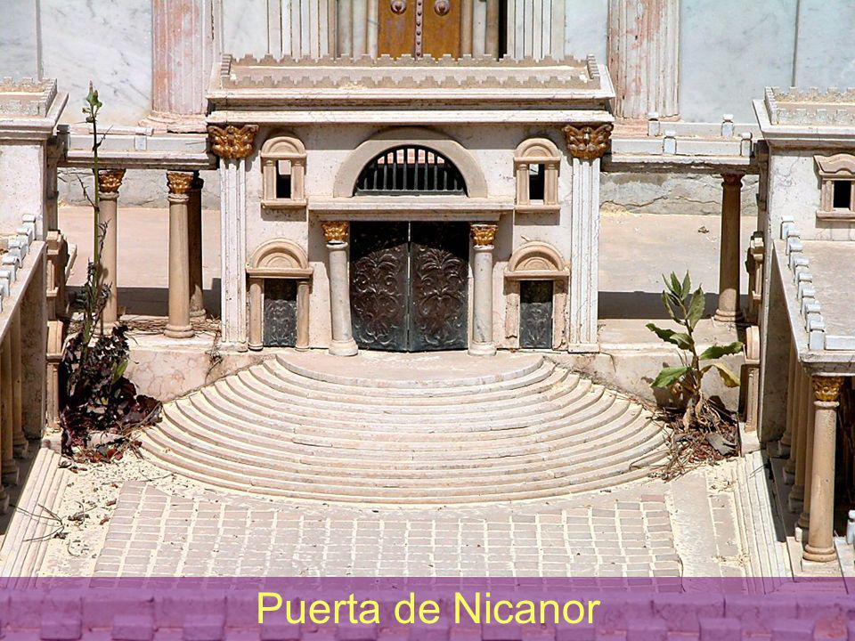 Temple Gate of Nicanor Puerta de Nicanor
