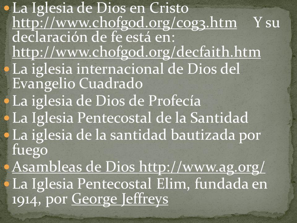 La Iglesia de Dios en Cristo http://www. chofgod. org/cog3