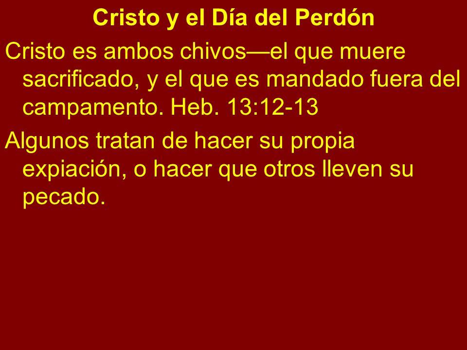 Cristo y el Día del Perdón