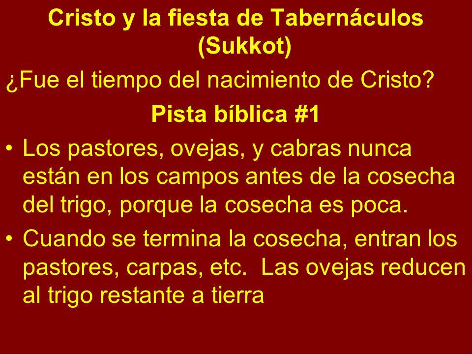 Cristo y la fiesta de Tabernáculos (Sukkot)