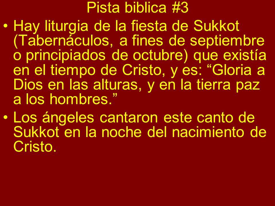 Pista biblica #3