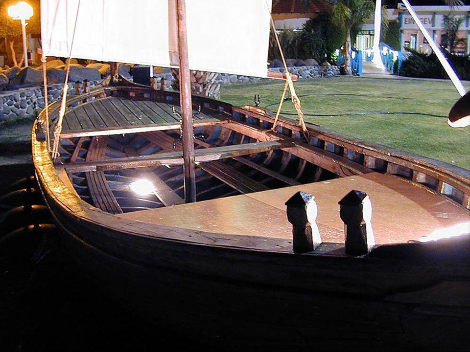First century boat model at En Gev