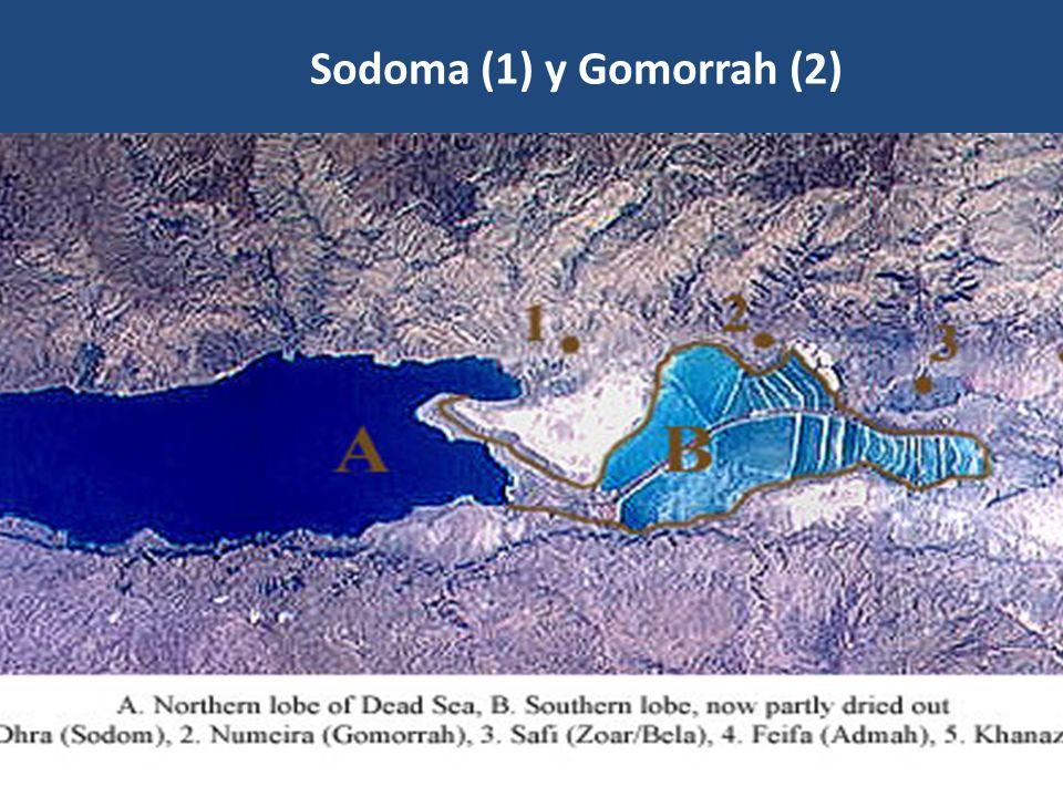 Sodoma (1) y Gomorrah (2)