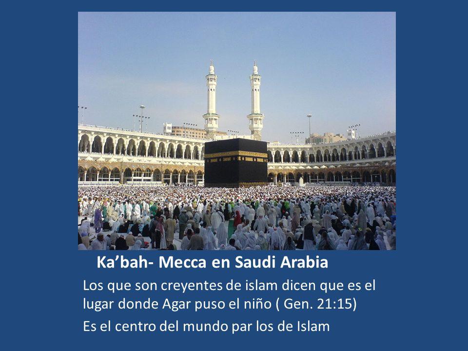 Ka'bah- Mecca en Saudi Arabia