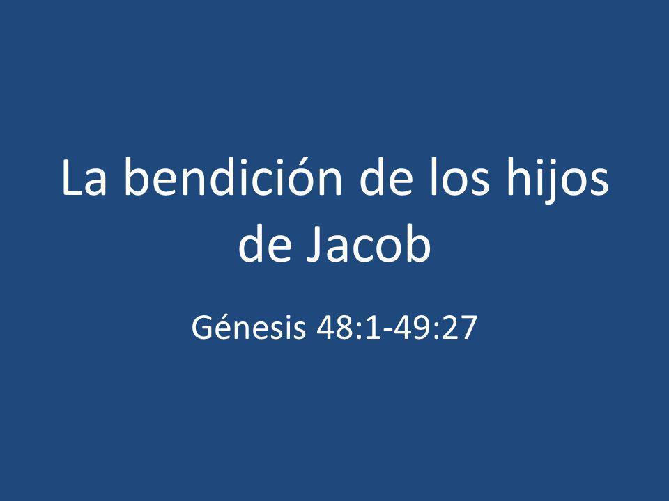 La bendición de los hijos de Jacob